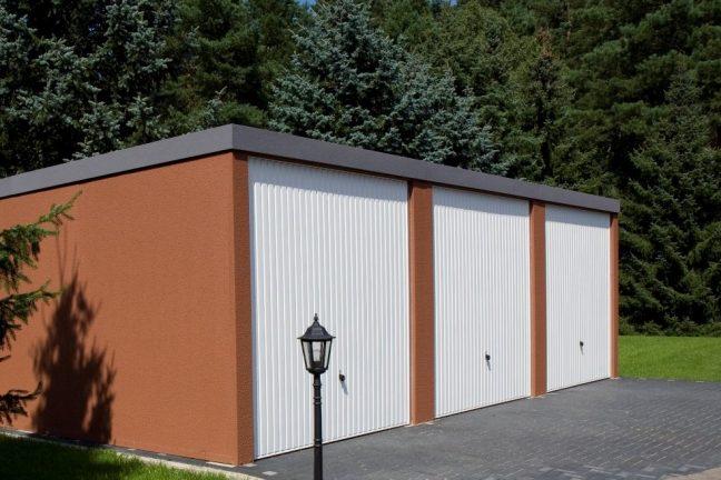 Montované radové garáže s bránami Hormann