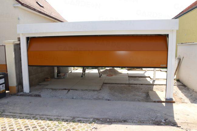 Prístrešok SIEBAU s garážovou bránou