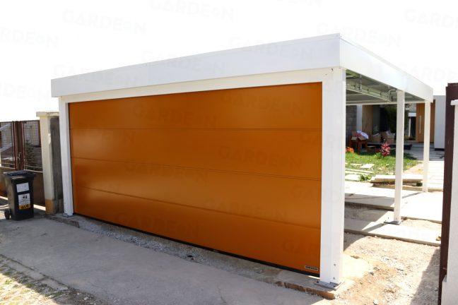 Dvojprístrešok SIEBAU s garážovou bránou