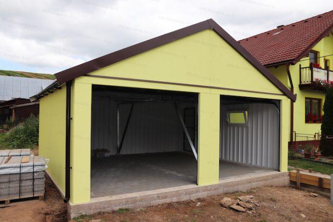 Montovaná garáž GARDEON so sedlovou strechou
