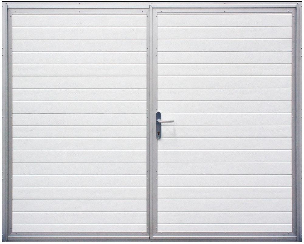 Dvojkrídlová garážová brána