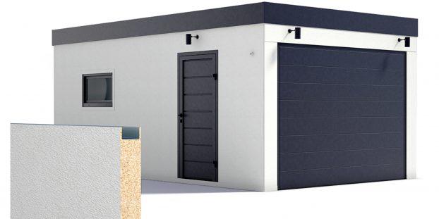 Izolovaná garáž