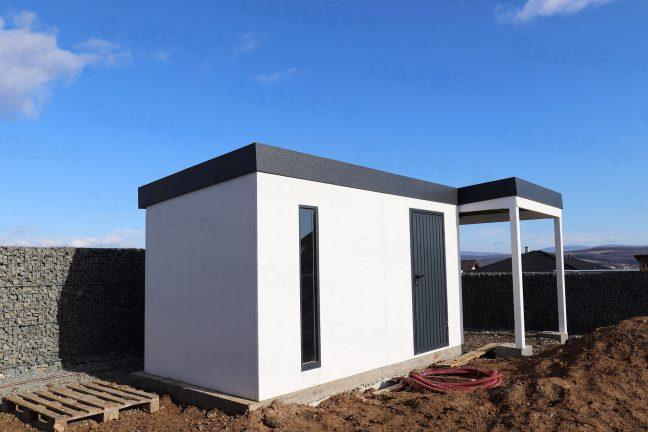 Záhradný domček GARDEON s antracitovou strechou