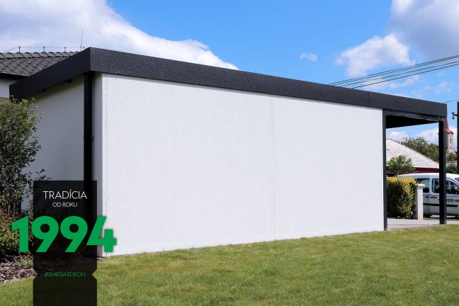 Bočná stena garáže GARDEON