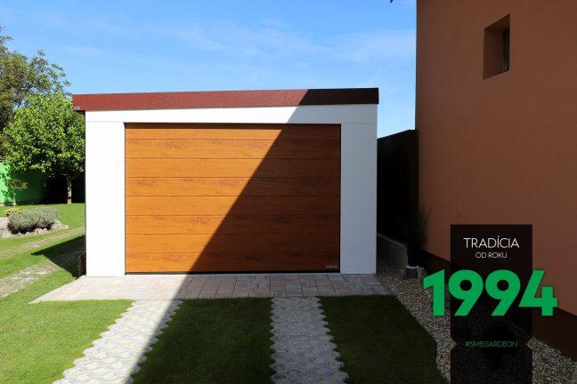 Brána atypickej garáže