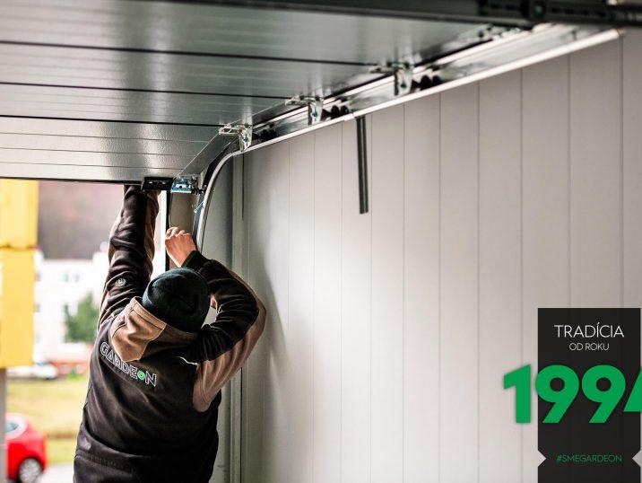 Montáž garážovej brány