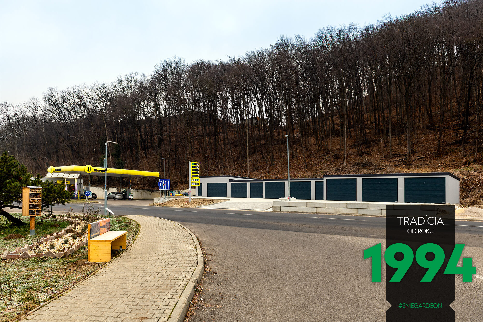 Radová garáž pri Slovnafte