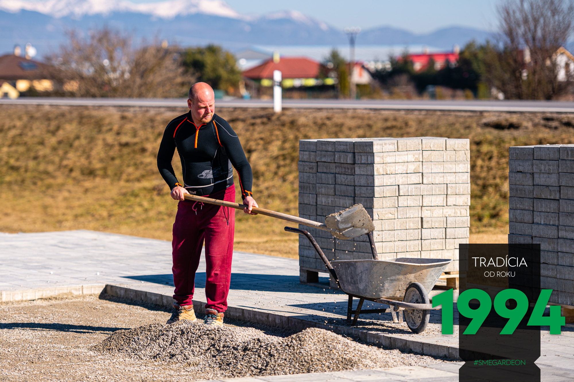 Príprava podkladu betónom