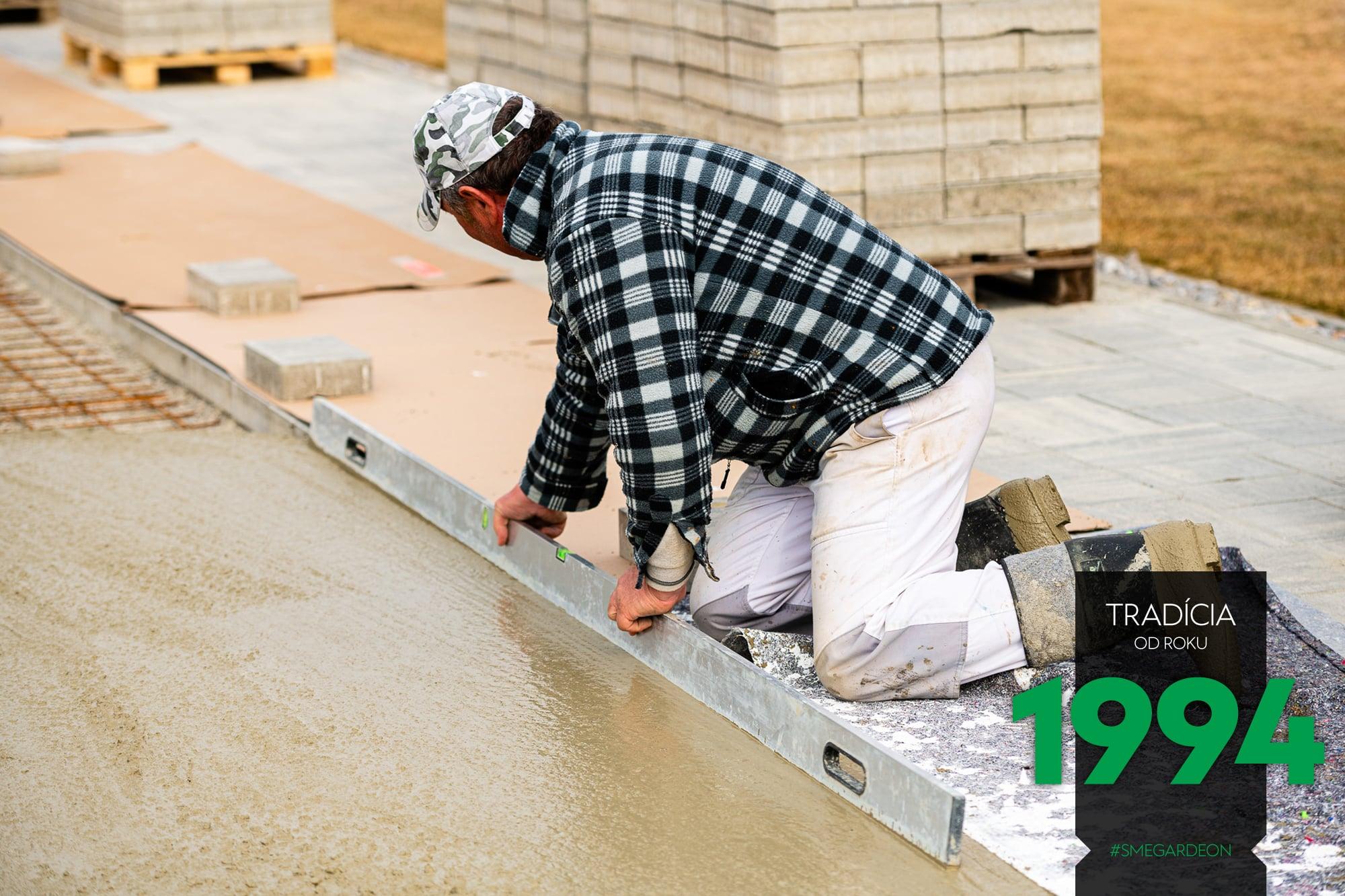 Úprava betónu